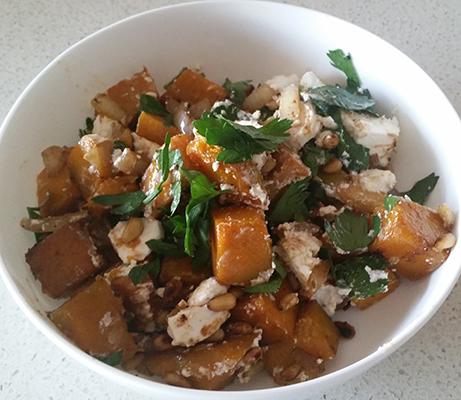 Pumpkin Fetta salad